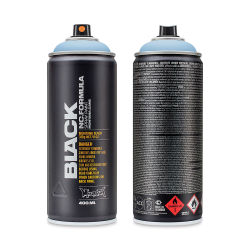 Montana Black Spray Paint - Lenor, 400 ml can