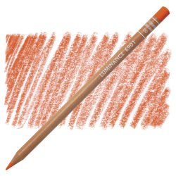 Caran d'Ache Luminance Colored Pencil - Dark Cadmium Orange Hue