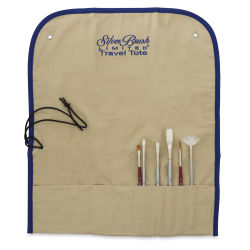 Silver Brush Travel Tote - Short Handle