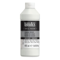 Liquitex Pouring Medium - Iridescent, 16 oz bottle