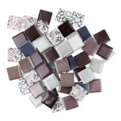 Mosaic Mercantile Patchwork Tiles - Heather Purple/Grey, 6 oz