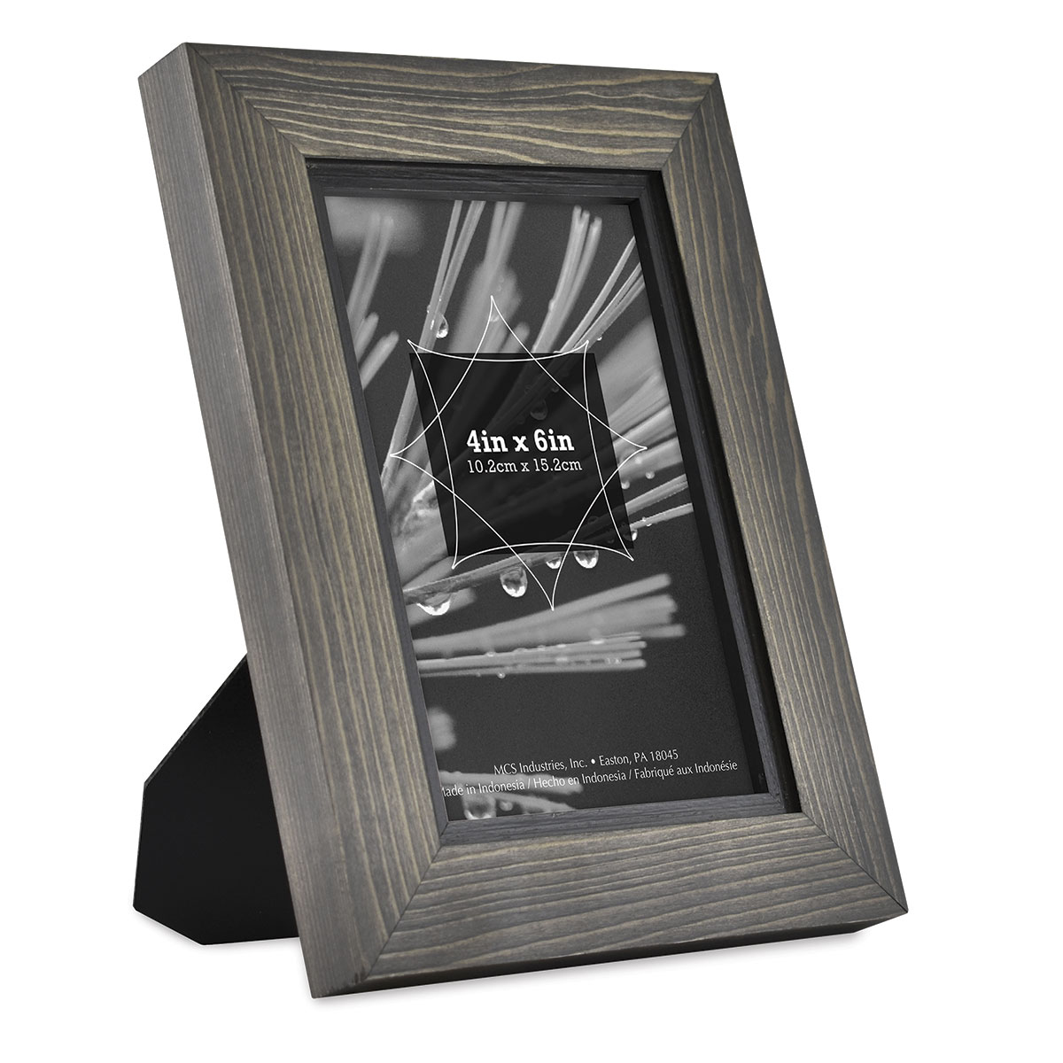 4 by 6-Inch MCS Solid Wood Frame in Gold Leaf Finish