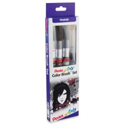 Pentel Arts Color Brush Pen Set - Color Brush Box
