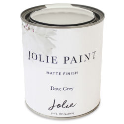 Jolie Matte Finish Paint - Dove Grey, Quart