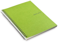 Grid Spiral Notebook, 70 Sheets