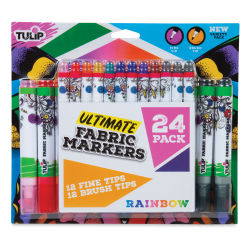 Tulip Ultimate Fabric Markers - Set of 24