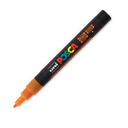 Uni-Posca Paint Marker - Glitter Orange, Fine, Bullet Tip, 1.5 mm