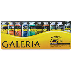 Winsor & Newton Galeria Flow Acrylics - Set of 10 Colors, 60 ml tubes