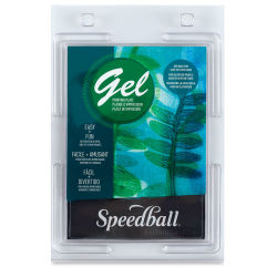 Speedball Gel Printing Plate - 5'' x 7'', single plate