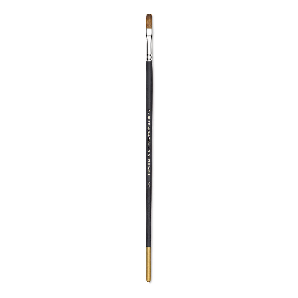 Blick Masterstroke Finest Red Sable Brush - Flat, Size 7, Long Handle