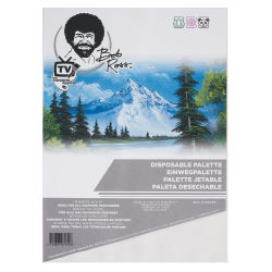 Bob Ross Disposable Palette Pad - 10'' x 14'''