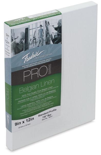 Fredrix Pro Series Belgian Linen Canvas