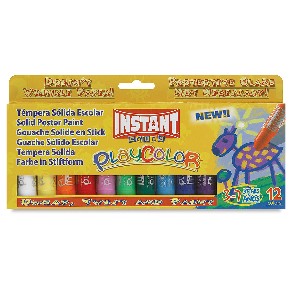 Playcolor - Standard Colors, Set of 12, Standard Size