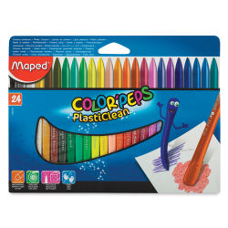 Maped Color'Peps Plasticlean Crayons - Set of 24