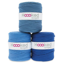 Hoooked Zapagetti Yarn - Ocean Blue