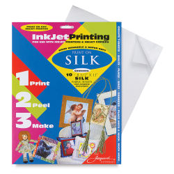 Silk Inkjet Fabric Kit, Pkg of 10