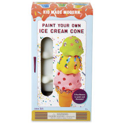 Kid Made Modern Paint Your Own Kit - Ice Cream