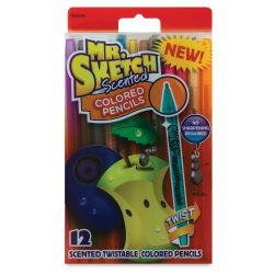 Mr. Sketch Scented Twistable Colored Pencils - Set of 12