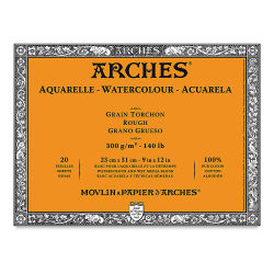 Arches Watercolor Block - Rough, 20 Sheets