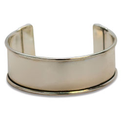 Realeather Metal Cuff Bracelet - Nickel, 1''