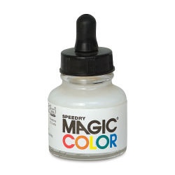 Magic Color Liquid Acrylic Ink - 28 ml, Lunar White
