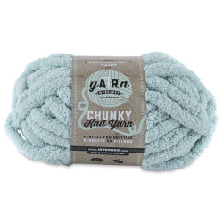 Lion Brand AR Workshop Chunky Knit Yarn - Light Aqua, 28 yds