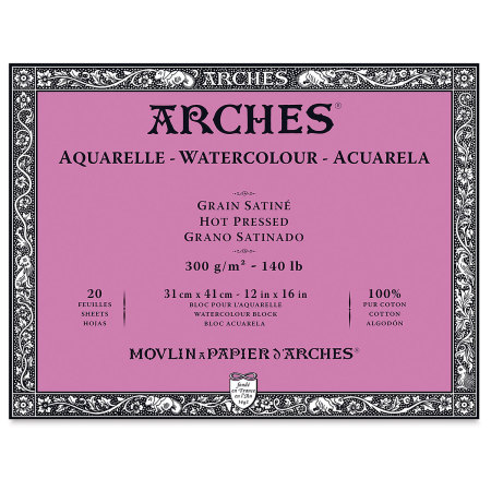 Arches Watercolor Block - 12