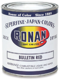 Ronan Superfine Japan Color - Bulletin Red, Quart
