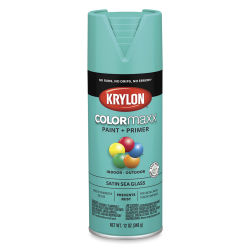 Krylon Colormaxx Spray Paint - Sea Glass, Satin, 12 oz