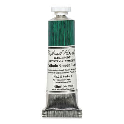 Michael Harding Artists Oil Color - Phthalo Green Lake, 40 ml tube