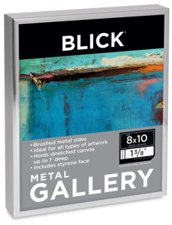 Blick Metal Gallery Frame, Silver