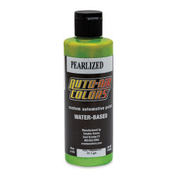Createx Auto Air Color - 4 oz, Pearlized Lime Green