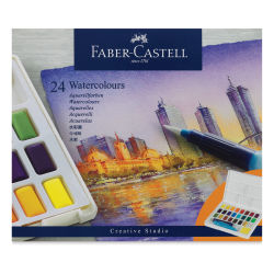 Faber Castell Creative Studio Half Pan Watercolor Sets