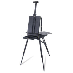 Blick Noir French Easel by Jullian (pictured fully assembled)