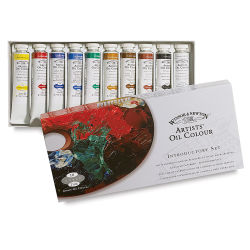 Winsor & Newton Artists' Oil Colors - Introductory Set, Set of 10, 21 ml tubes