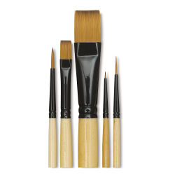 Decorative Starter Brushes, Set of 5