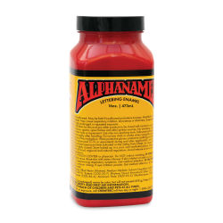 Alpha6 Alphanamel Lettering Enamel - Alpha Red, 473 ml, Bottle