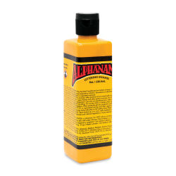 Alpha6 Alphanamel Lettering Enamel - Dark Yellow, 236.6 ml, Bottle