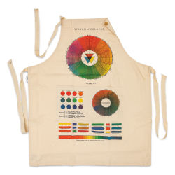 Cavallini Color Wheel Vintage Apron