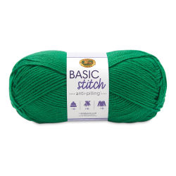 Lion Brand Basic Stitch Anti-Pilling Yarn - Grass, 185 yds
