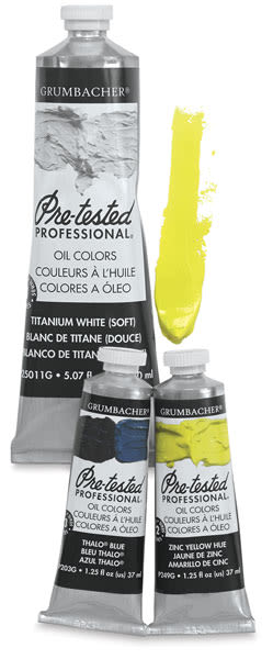 Grumbacher Pre-Tested Artists' Oil Paints