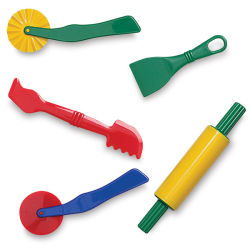 Clay/Dough Tools, Set of 5