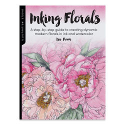 Illustration Studio: Inking Florals, Book Cover