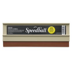 Speedball Fabric Squeegee, Plastic Handle - 9''