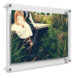 Wexel Art Acrylic Panel Frame - Double Panel Frame, 15'' x 18''