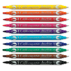 Manuscript Callicreative Duotip Marker Set - Set of 10