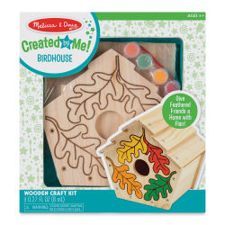 Melissa & Doug Created by Me Birdhouse Wooden Craft Kit