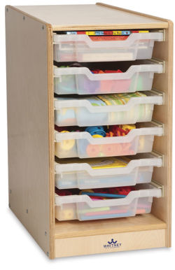Clear Tray Storage Cabinets