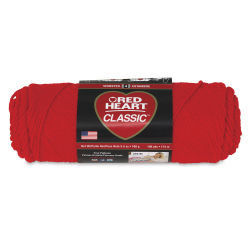 Red Heart Classic Yarn - Jockey Red, 3.5 oz