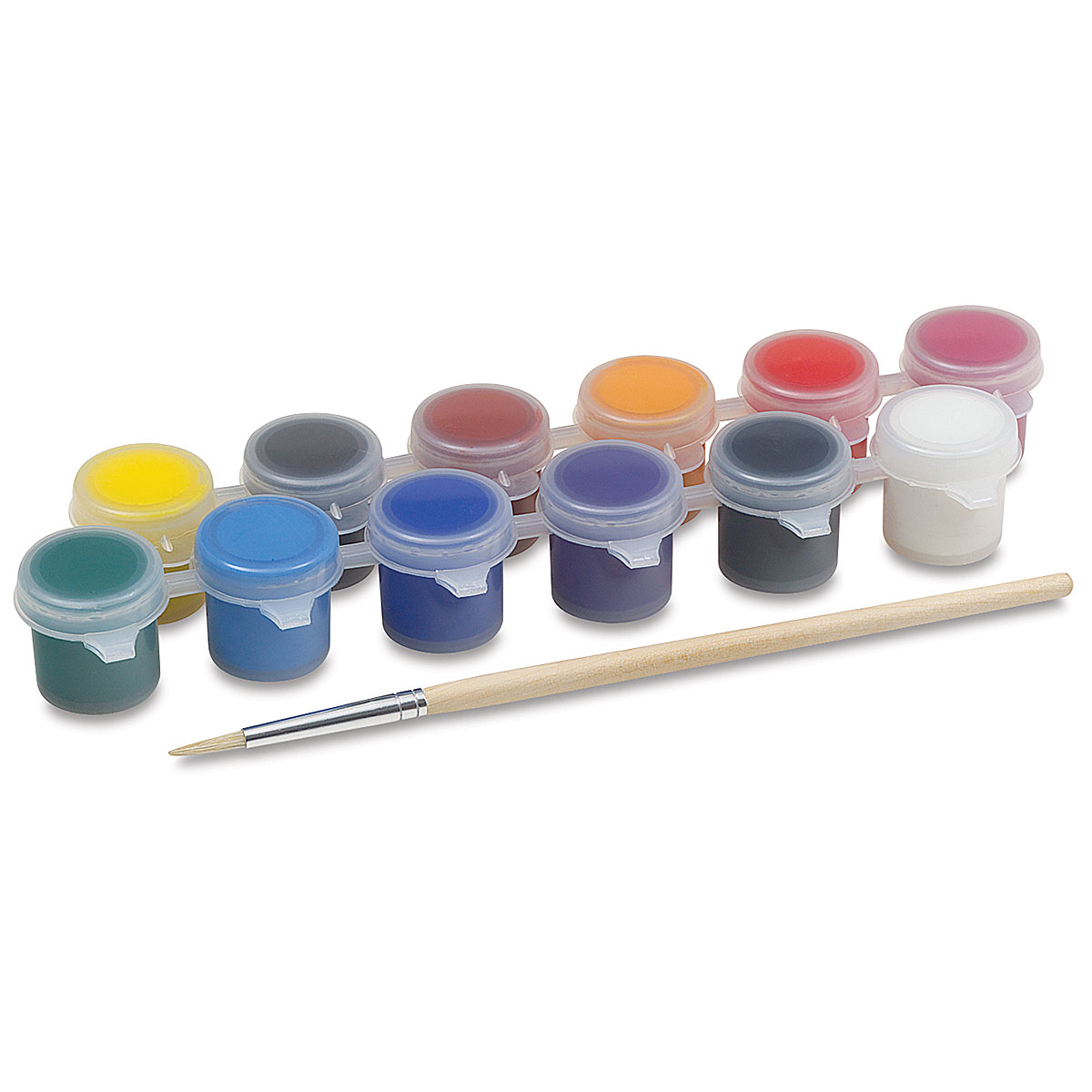 Liquitex Basics Acrylic Set - Paint Pot Set, .14 oz Pots